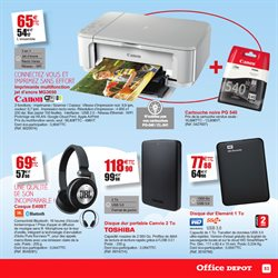 Promo et r duction sur les imprimantes en ao t 2017 bon reduc - Coupon de reduction office depot ...
