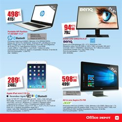 Code promo et r duction sur acer ordinateur tablette liquid aspire sur bon reduc - Coupon de reduction office depot ...