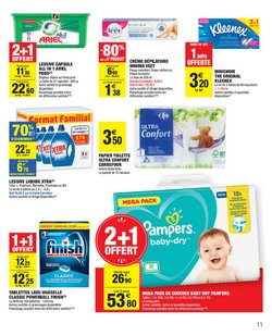 Pampers à Carrefour Market
