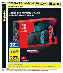 Nintendo Switch à Carrefour Market