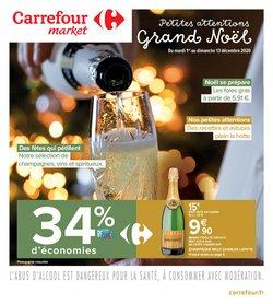 Champagne à Carrefour Market