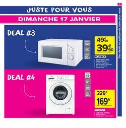 Lave-linge à Carrefour Market