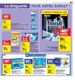 Lave-vaisselle à Carrefour Market