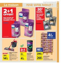 Piscines à Carrefour Market