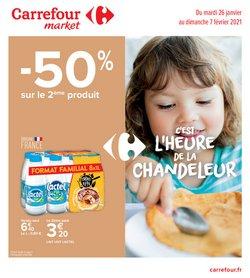 Promos de masque dans le prospectus à Carrefour Market ( Publié hier)