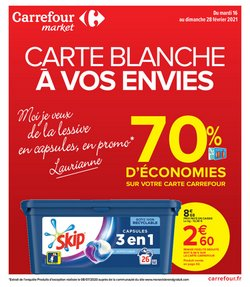 Carrefour Market coupon ( 3 jours de plus )