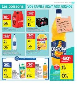 Coca-cola à Carrefour Market