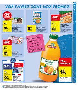 Coquilles Saint-Jacques à Carrefour Market
