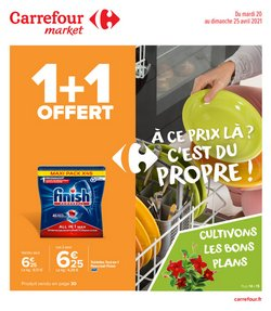 Promos de tirage au sort dans le prospectus à Carrefour Market ( Publié hier)