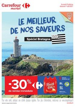 Promos de Hyper-Supermarchés dans le prospectus à Carrefour Market ( Expire ce jour)