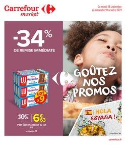 Promos de Hyper-Supermarchés dans le prospectus à Carrefour Market ( 14 jours de plus)