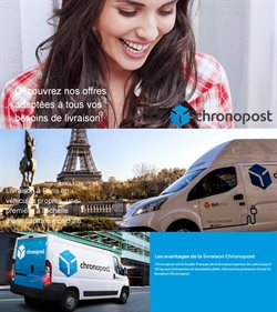 Promos de Banques et Assurances dans le prospectus de Chronopost à Marseille ( Plus d'un mois )