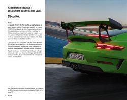Promos de Freins dans le prospectus de Porsche à Paris