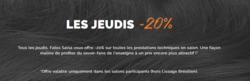 Promos de Fabio Salsa dans le prospectus à Paris