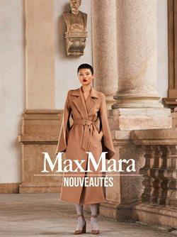 Promos de Marques de luxe dans le prospectus de Max Mara à Toulouse ( Plus d'un mois )