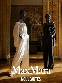 Promos de Marques de luxe dans le prospectus à Max Mara ( 3 jours de plus)