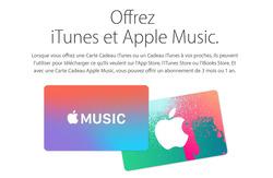 Promos de Apple dans le prospectus à Paris