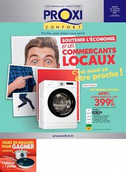 Lave-linge à Proxi Confort