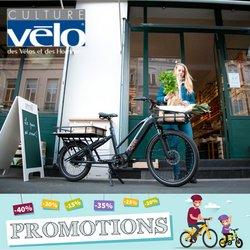 Promos de Culture Vélo dans le prospectus à Culture Vélo ( 8 jours de plus)
