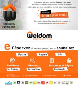 Weldom coupon à Paris ( Plus d'un mois )