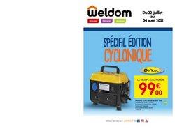 Promos de Weldom dans le prospectus à Weldom ( 3 jours de plus)