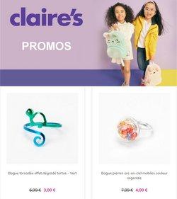 Promos de Claire's dans le prospectus à Claire's ( 25 jours de plus)