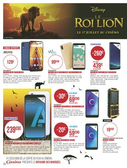 promo telephone portable geant casino