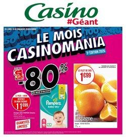 Pampers à Géant Casino