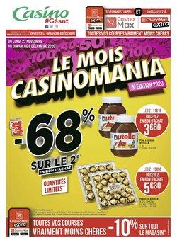 Nutella à Géant Casino