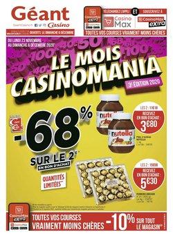 Géant Casino coupon ( Publié hier )