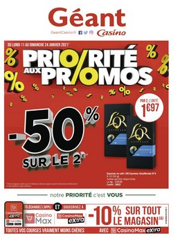 Géant Casino coupon à Bordeaux ( Expire ce jour )
