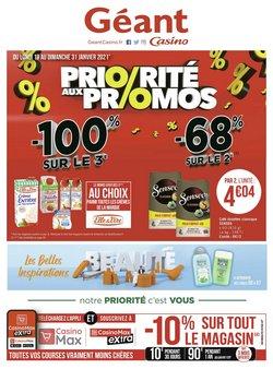 Géant Casino coupon à Bordeaux ( 7 jours de plus )