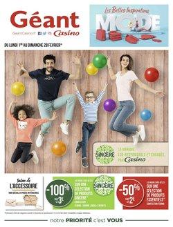 Géant Casino coupon ( Expiré )