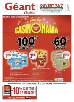 Géant Casino coupon ( Expire demain )