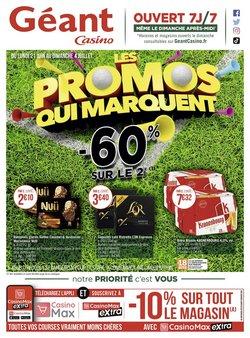 Promos de Géant Casino dans le prospectus à Géant Casino ( Expiré)