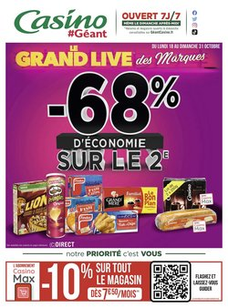 Géant Casino coupon ( 7 jours de plus)