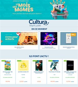 Cultura coupon à Paris ( 10 jours de plus )
