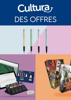 Promos de Culture et Loisirs dans le prospectus de Cultura à Aubagne ( Expire ce jour )