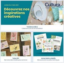 Cultura coupon ( Publié hier )