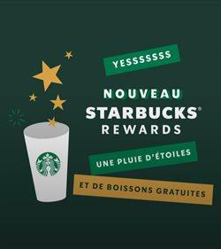 Promos de Restaurants dans le prospectus de Starbucks à Marseille ( Plus d'un mois )