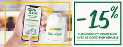 Subway coupon à Saint-Malo ( 6 jours de plus )