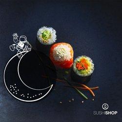 Promos de Restaurants dans le prospectus à Sushi Shop ( 6 jours de plus)