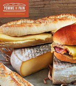 Promos de Restaurants dans le prospectus de Pomme de Pain à Montreuil (Seine Saint Denis) ( Plus d'un mois )