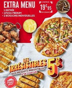 Promos de Restaurants dans le prospectus à Pizza Hut ( Publié hier)