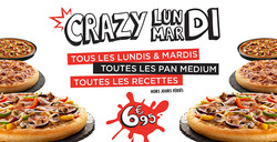 Promos de Pizza Hut dans le prospectus à Lyon