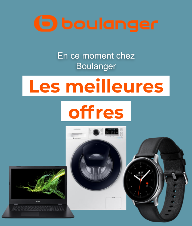 Boulanger coupon à Paris ( 3 jours de plus )