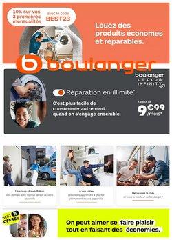 Boulanger coupon ( Nouveau)
