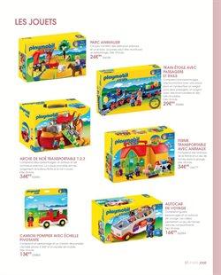 Promos de Playmobil dans le prospectus de Toys R Us à Paris