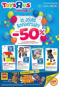 Promos de Jouets et Bébé dans le prospectus de Toys R Us à Bordeaux