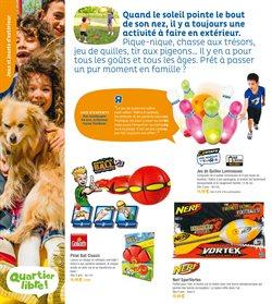 Promos de Nerf dans le prospectus de Toys R Us à Paris